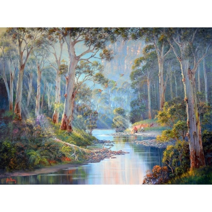 Original Painting by John Bradley