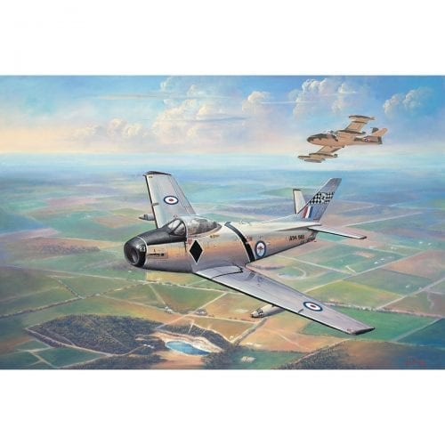 First Flight Temora Painting by John Bradley