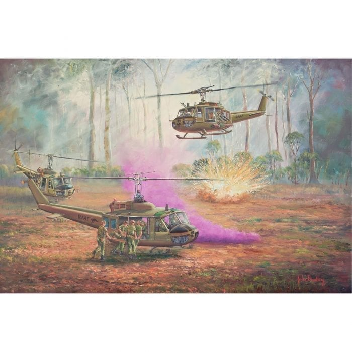 Hot Extraction Vietnam Painting John Bradley