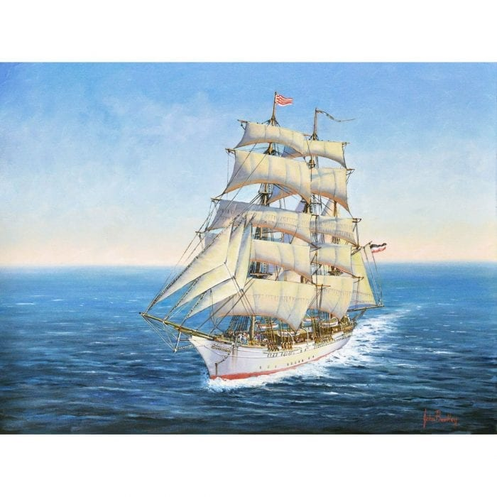 Johan Cesar Ship Painting John Bradley