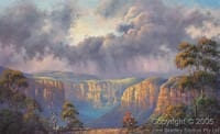 Storm Clouds painting John Bradley