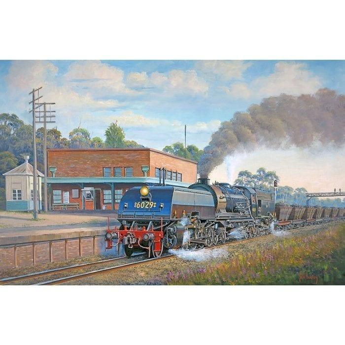 Coal To Newcastle Train Painting John Bradley