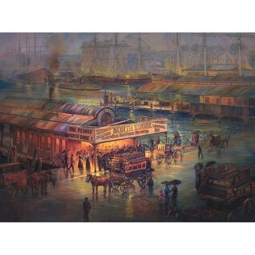 Penny Lane Store Oil Painting John Bradley