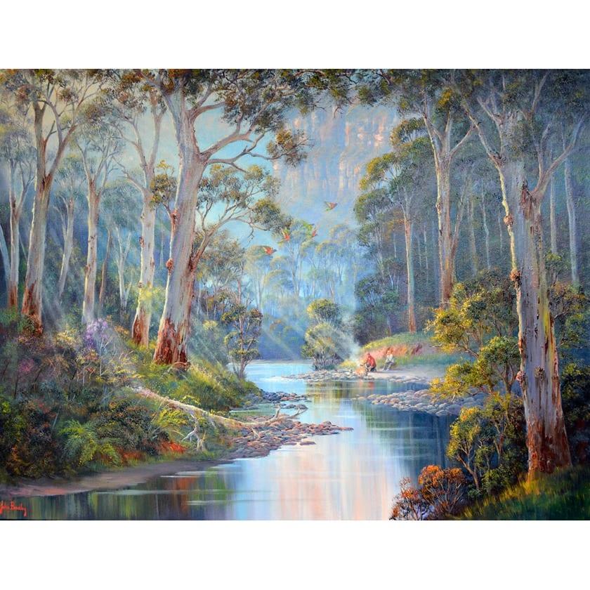 John Bradley Original Paintings for Sale