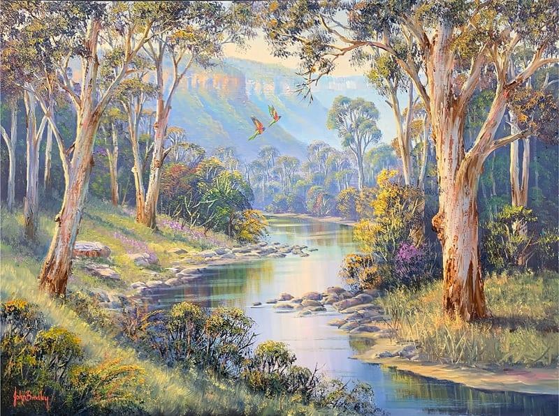 John Bradley Masterclass Landscape in Oils