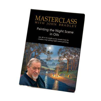 John Bradley masterclass painting tutorial on painting the night scene
