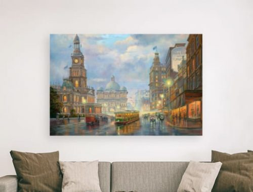 Special edition canvas Evening Showers John Bradley