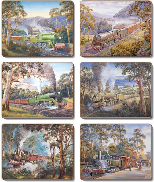 Placemats Trains Series John Bradley