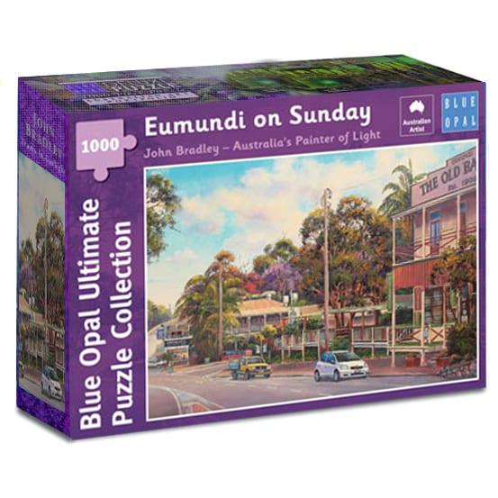 Eumundi on Sunday Puzzle John Bradley