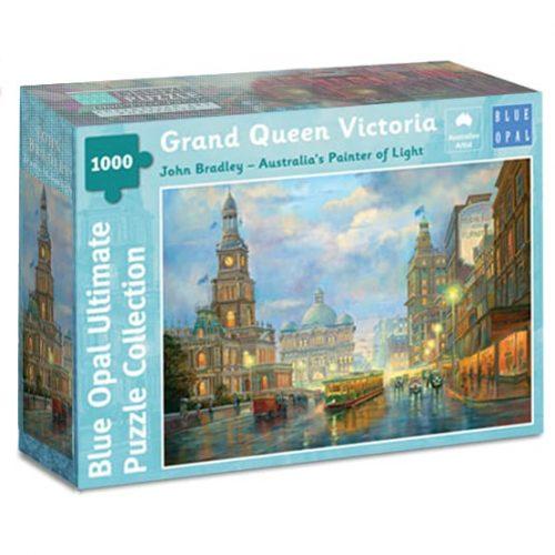 Grand Queen Victoria Building Sydney puzzle John Bradley