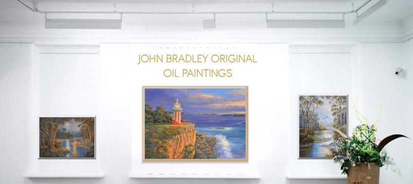 John Bradley original oil paintings