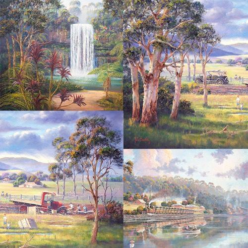 John Bradley commissioned artwork