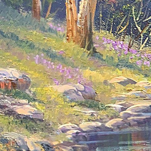 john bradley how to paint grass