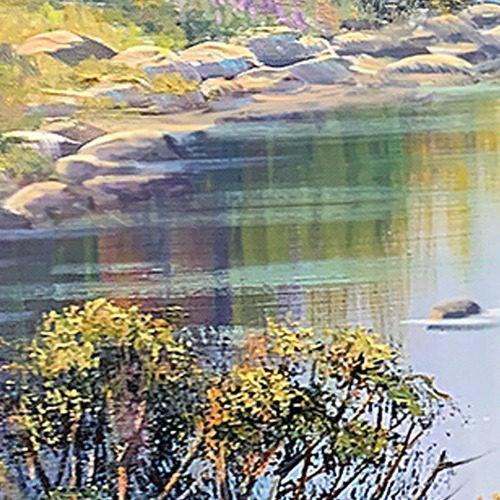 john bradley how to paint water
