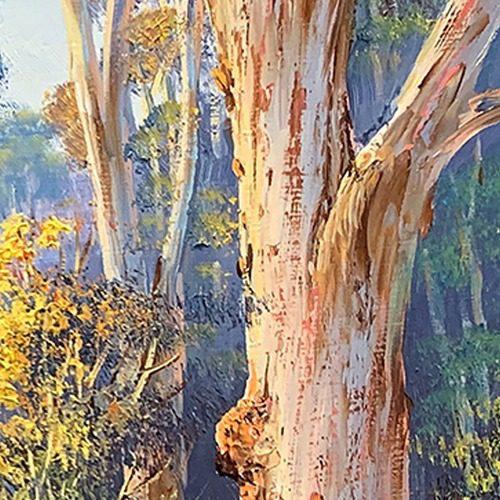 john bradley how to paint trees